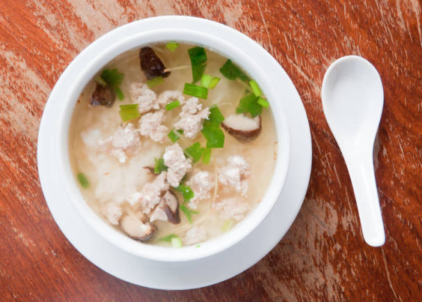 Okayu (rice porridge) is the Main Dish Served Once You Have Caught a Cold