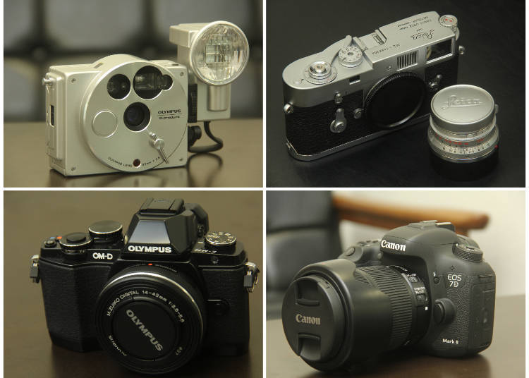 Quality Used Japanese Cameras at Bargain Prices? 4 Used