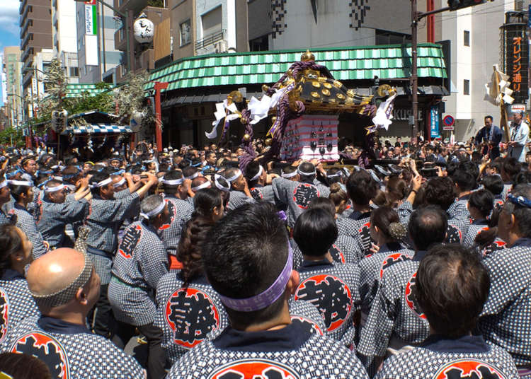 Seeing The Sanja Matsuri - One of Tokyo's Most Famous Festivals! (May 15 – 17, 2020)