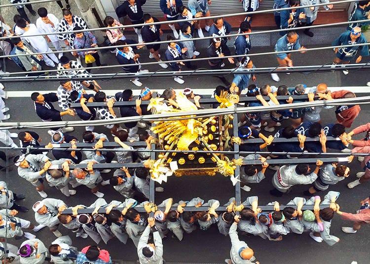 Origins of the Sanja Matsuri