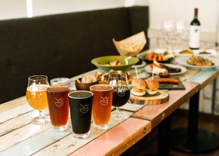 4. Y.Y.G. Brewery & Beer Kitchen (Shinjuku)