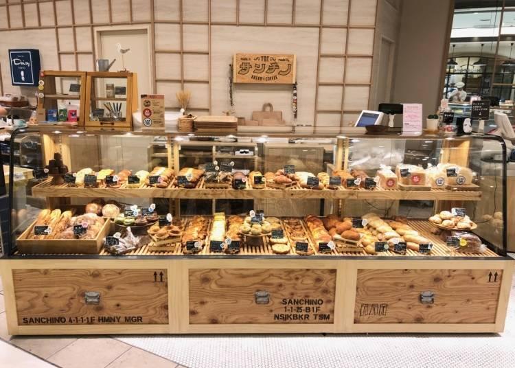 溫馨的自然派烘焙屋サンチノ(Sanchino)療癒的巧克力球球麵包