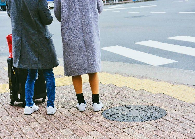 行走時不一定都是路人優先!