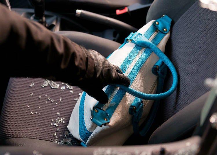 停車場不是絕對安全,小心車上竊盜!