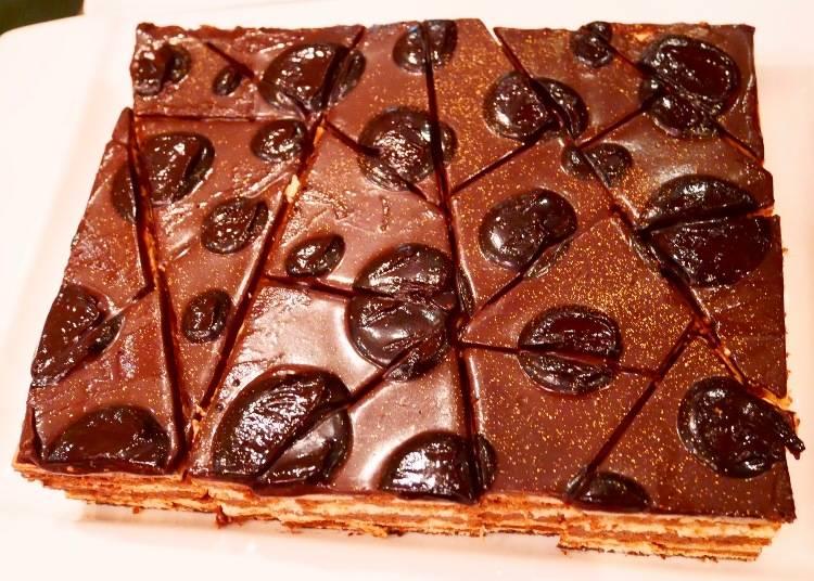 歐培拉多層次巧克力蛋糕(オペラ)