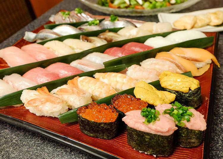 鮮度超群! 100種壽司與熟食料理盡情吃到飽! 新宿歌舞伎町「きづなすし絆魚壽司」