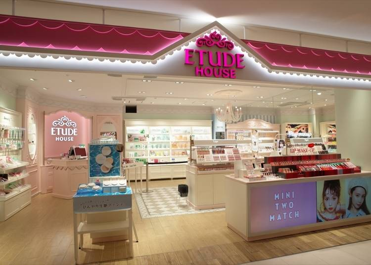 2F: Etude House (Cosmetics)