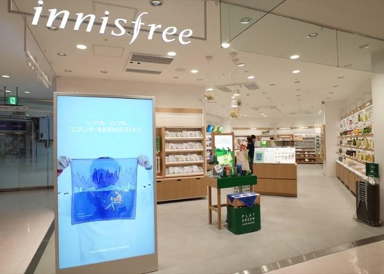 2F: Innisfree (Cosmetics)