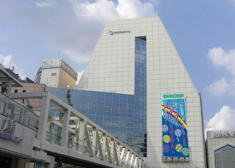 신주쿠 미로드 - 패션, 잡화, 화장품 등의 숍이 120 점포이상! 로프트(LOFT)도 입점중!
