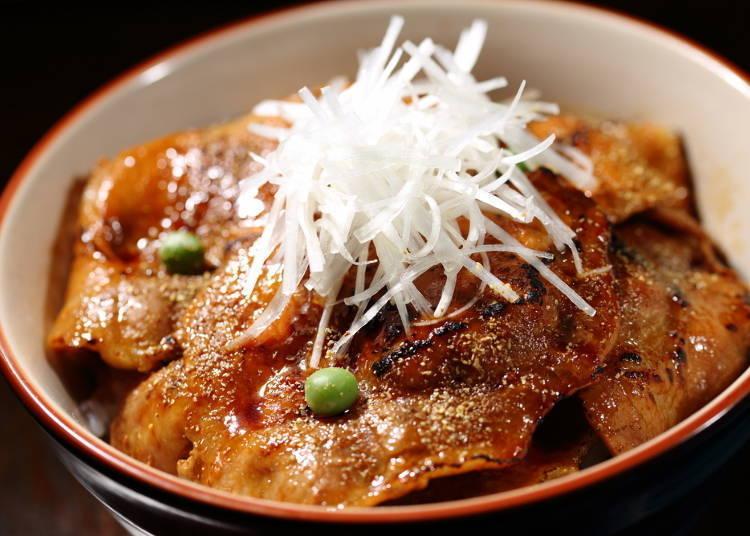 Butadon (pork bowl): Sweet and savory heaven!