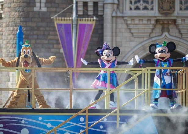 東京迪士尼樂園2018夏日祭典 豪華光雕煙火秀、超嗨潑水遊行、限定美食&商品
