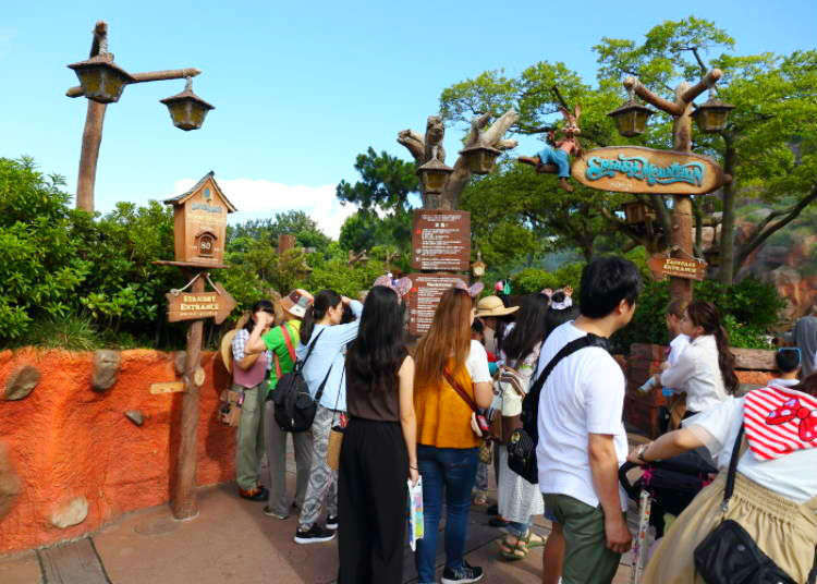 Tokyo Disneyland: Top 5 Fastpass Attractions & Top 5 Secret Tips with Short Lines! - LIVE JAPAN