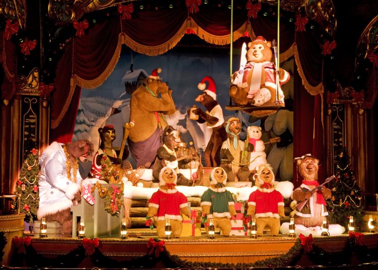 私房設施!不用排隊也OK!② 幽默滿點的熊熊們所帶來的演出!「鄉村頑熊劇場」