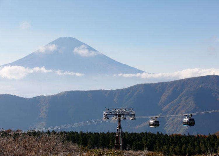 하코네여행 - 도쿄에서 당일치기로 하코네에 가보다!