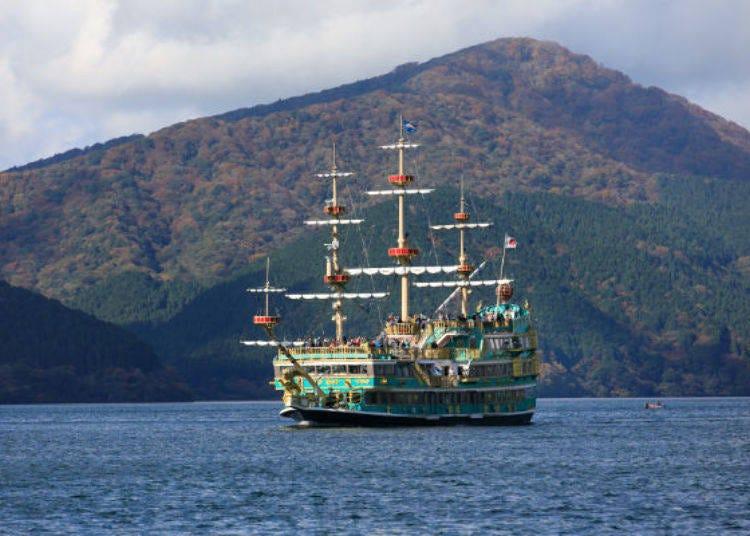 하코네 해적선을 타고 아시노코 여행을 떠나자!