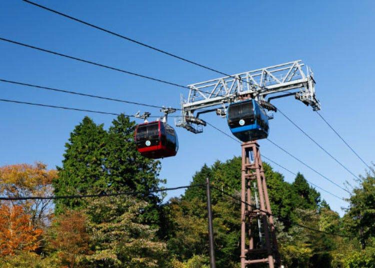 搭乘箱根空中纜車,耀眼蘆之湖&富士山美景盡收眼底♪