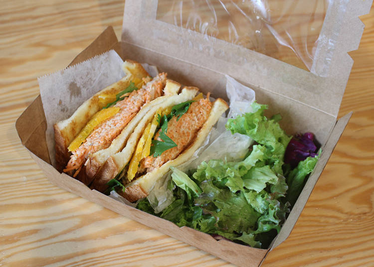 All Items are also Available for Take-out! These would be Great for Taking on a Picnic