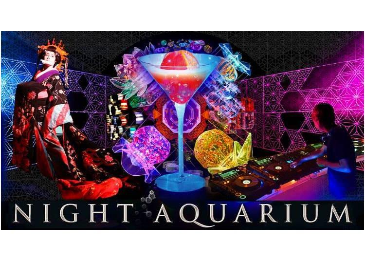 When the sun sets: Night Aquarium