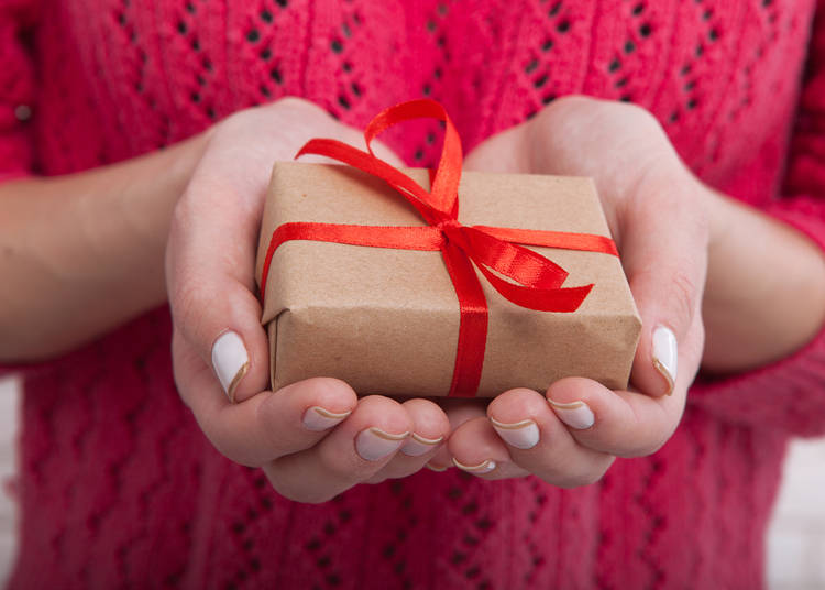 3. Pack small gifts and mementos for others