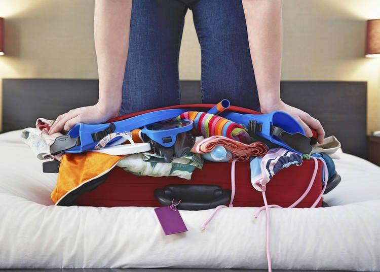 Japan Travel Tip 6. Don't overpack