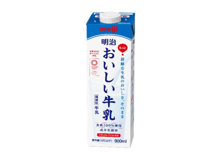 耗費十年才終於誕生的明治牛奶