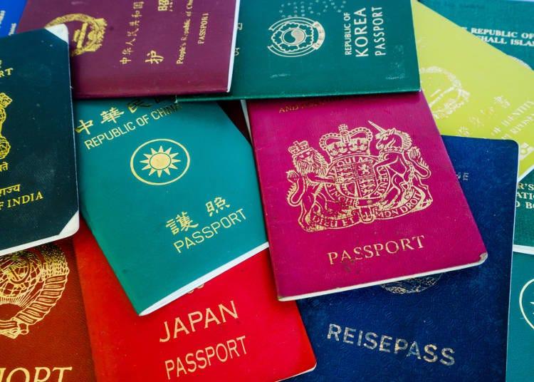 旅途中發現護照遺失