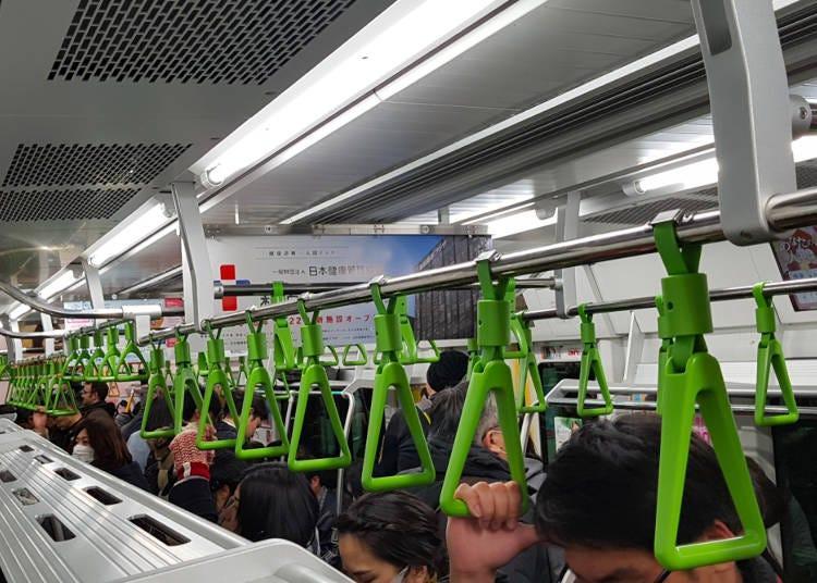 行李忘在電車、新幹線上