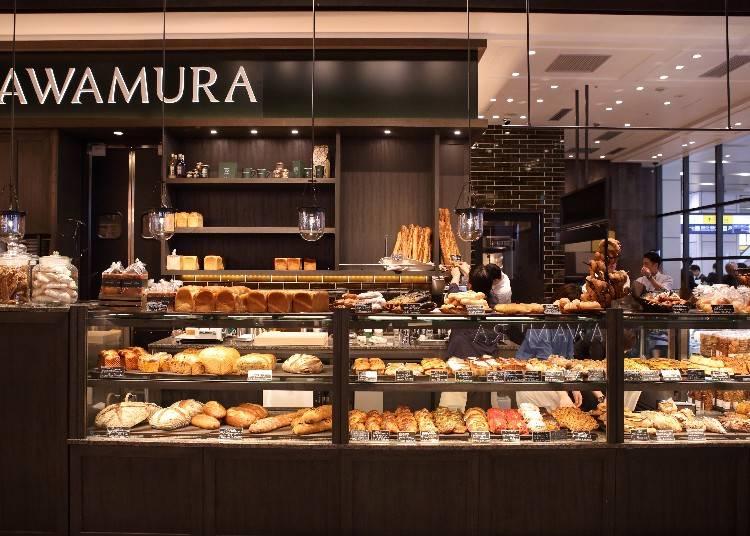 店內用餐區設備完整!輕井澤的人氣麵包店「ベーカリー&レストラン 沢村」