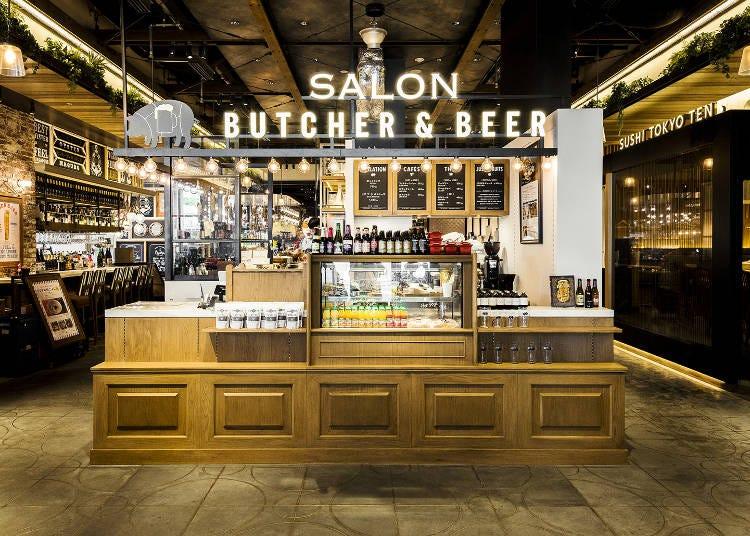 米其林評價星級美食的正宗肉料理搭配精釀啤酒來乾杯!「SALON BUTCHER&BEER」