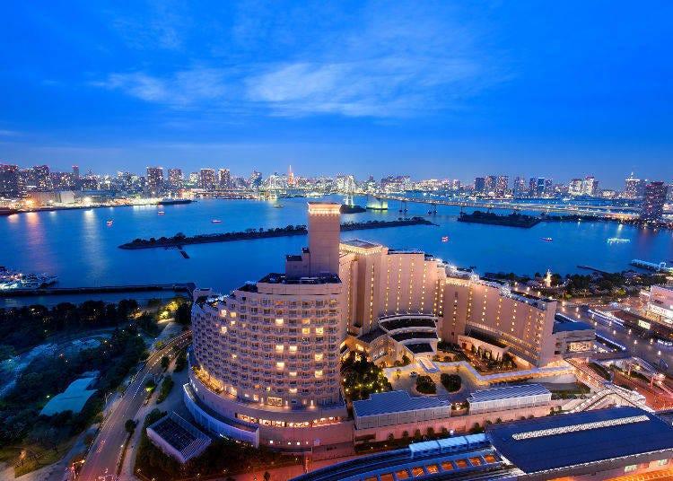 1. Hilton Tokyo Odaiba: a Resort Hotel Right at the Waterfront