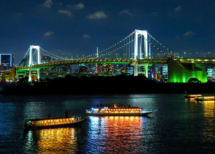 Tokyo's Spectacular Night Views: The 5 Very Best Photo Spots in Odaiba!