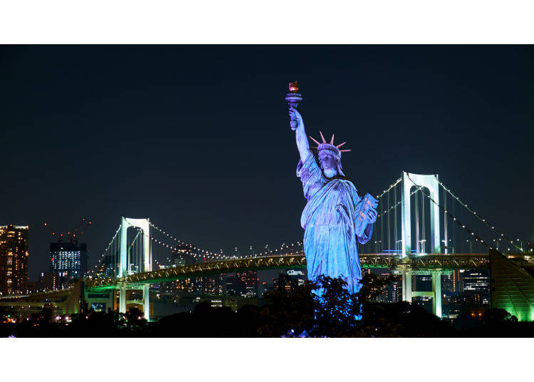 3. Odaiba Statue of Liberty: Iconic, Famous, and Breathtaking