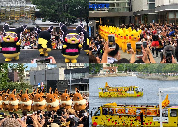 Pikachu Outbreak 2018 in Yokohama: Celebrate the Summer with 1,500 Pikachu Friends!