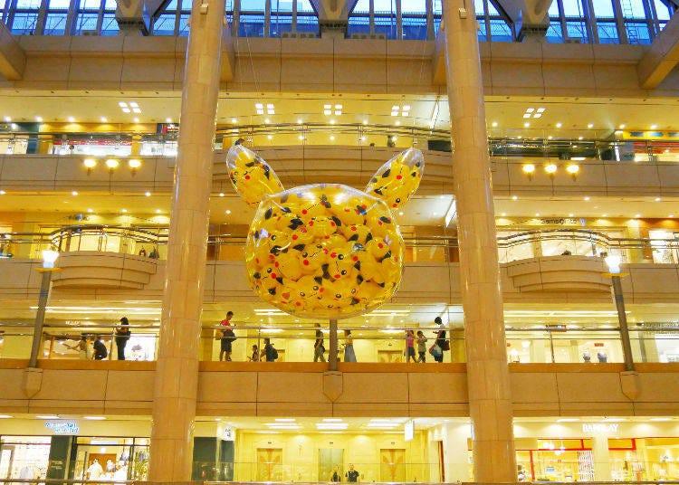 Highlight 4: Pikachu Dye Yokohama Yellow!