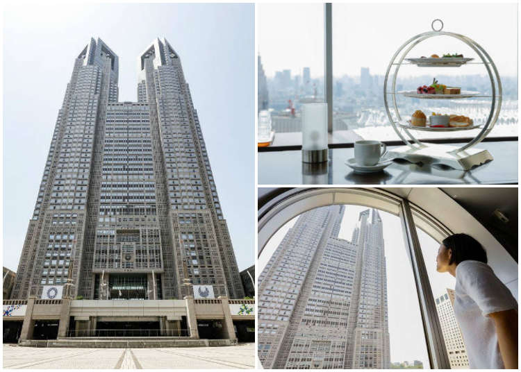Must-visit places in Tokyo: Tokyo Metropolitan Government Building - Incredible Free View of Tokyo - LIVE JAPAN