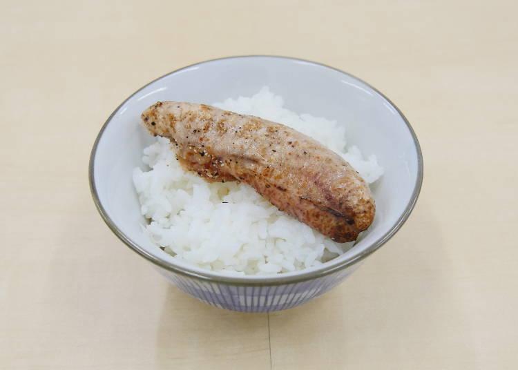 ■実食その4 福岡/新宮「特選 炙り明太子」