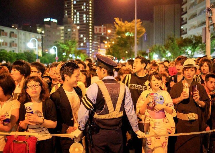 Violent Crimes in Tokyo, Ranked by Number of Incidents
