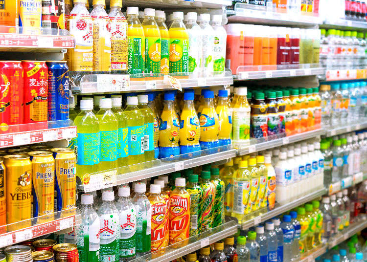 What Do Japanese Buy at the Supermarket? Top 10 Quirky Japanese Drinks!