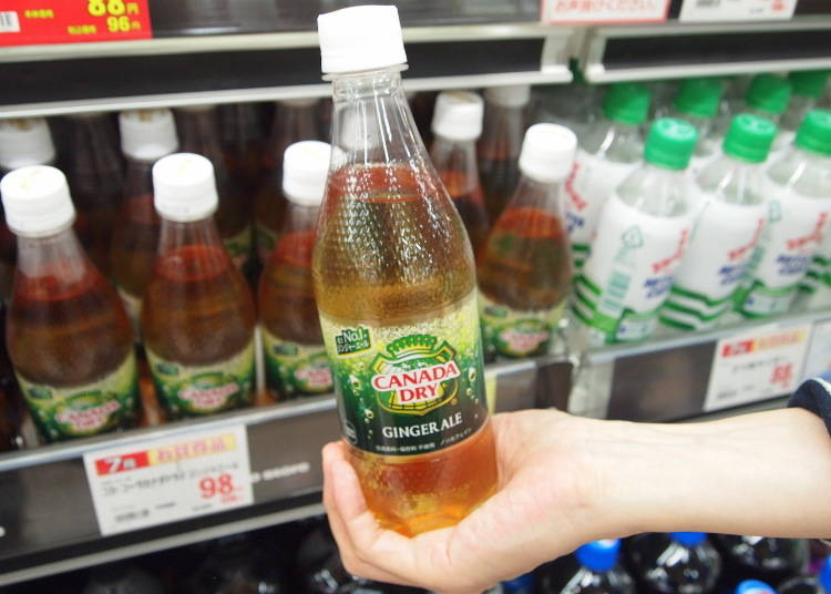 6. Canada Dry Ginger Ale