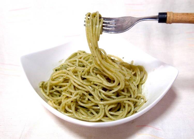 #5. A Rich Basil Aroma: Mazeru Dake no Spaghetti Sauce Basil (S&B Foods, 158 yen excluding tax)