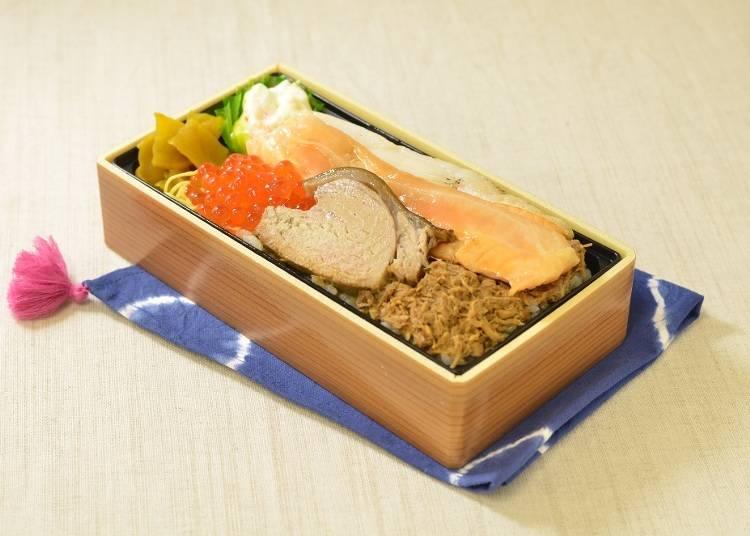 ●4位「三色弁当」つきじ喜代村