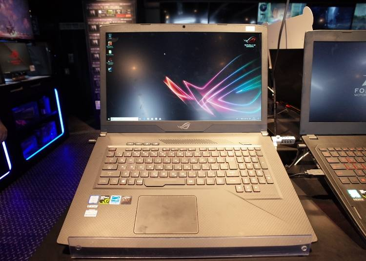 """ゲーミングPCの人気商品#6 """"ASUS:17.3型ゲーミングノートPC GL703VNI5H1"""" (119,800円)"""