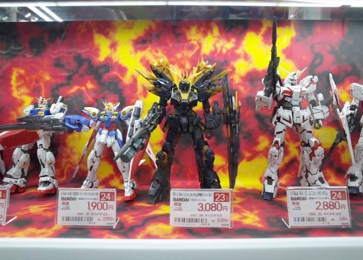 Popular Models & Figurines #1: Unicorn Gundam 02 Banshee Norn (3,080 yen)