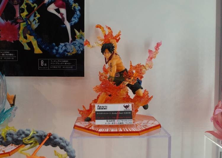 Popular Models & Figurines #3: Portgas D. Ace -Brother's Bond- (4,860 yen)