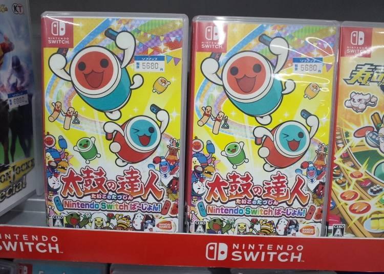 """ゲーム用品の人気商品#7 """"Nintendo Switch「太鼓の達人 Nintendo Switchば~じょん!」(5,680円)"""""""