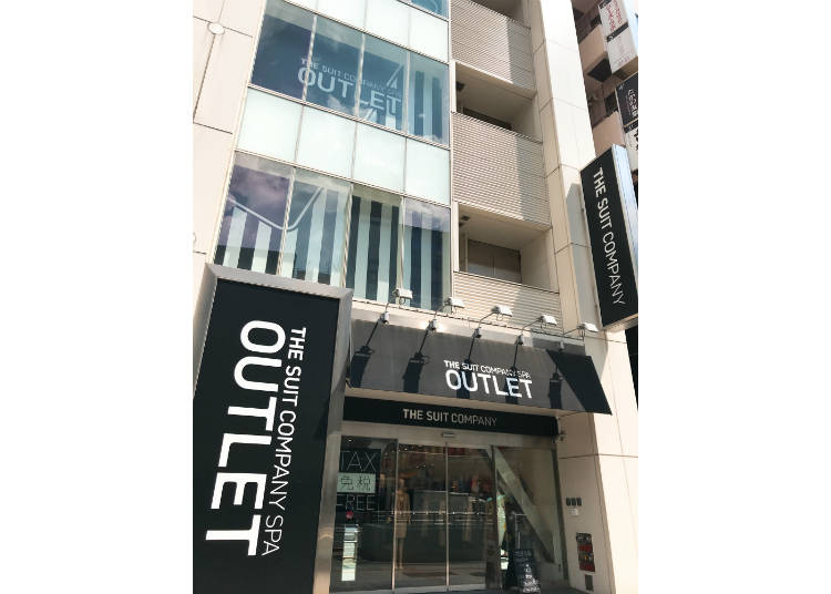 The Suit Company Outlet Ueno