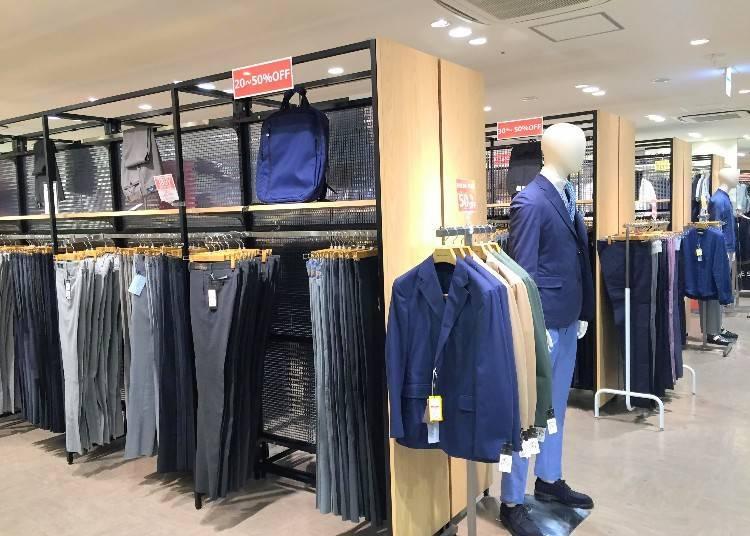 ea25034cb1d1 アウトレット店舗といっても、全国の店舗から商品が集まってくるため品数が豊富で、たくさんの商品の中から選べるところが嬉しい。