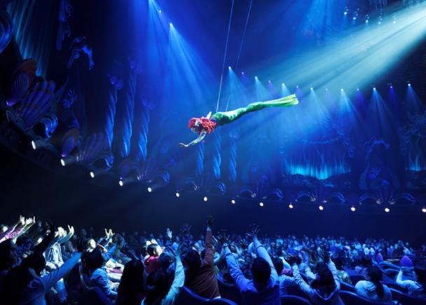 東京迪士尼海洋免排隊遊樂設施① 來聽艾莉兒一展歌喉美聲!「美人魚礁湖劇場:川頓王的音樂會(マーメイドラグーンシアター)」(適用快速通行)
