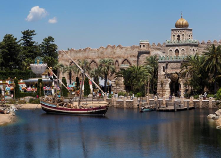 東京迪士尼海洋免排隊遊樂設施➂ 揚帆航向未知的世界!「辛巴達傳奇之旅(シンドバッド・ストーリーブック・ヴォヤッジ)」