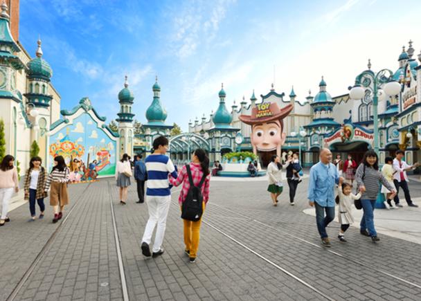 東京迪士尼海洋必排必玩超人氣遊樂設施① 人氣最旺就它!「玩具總動員瘋狂遊戲屋(トイ・ストーリーマニア)」(適用快速通行)